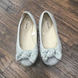 Cherokee Girls Ballet Flats with Bow